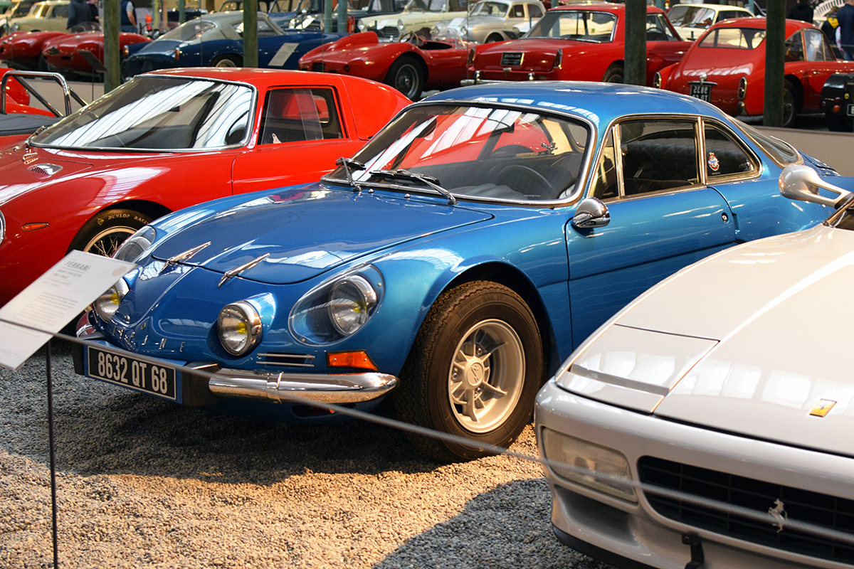 Alpine A110 1300 V85 1976 - Cité de l'automobile, Collection Schlumpf