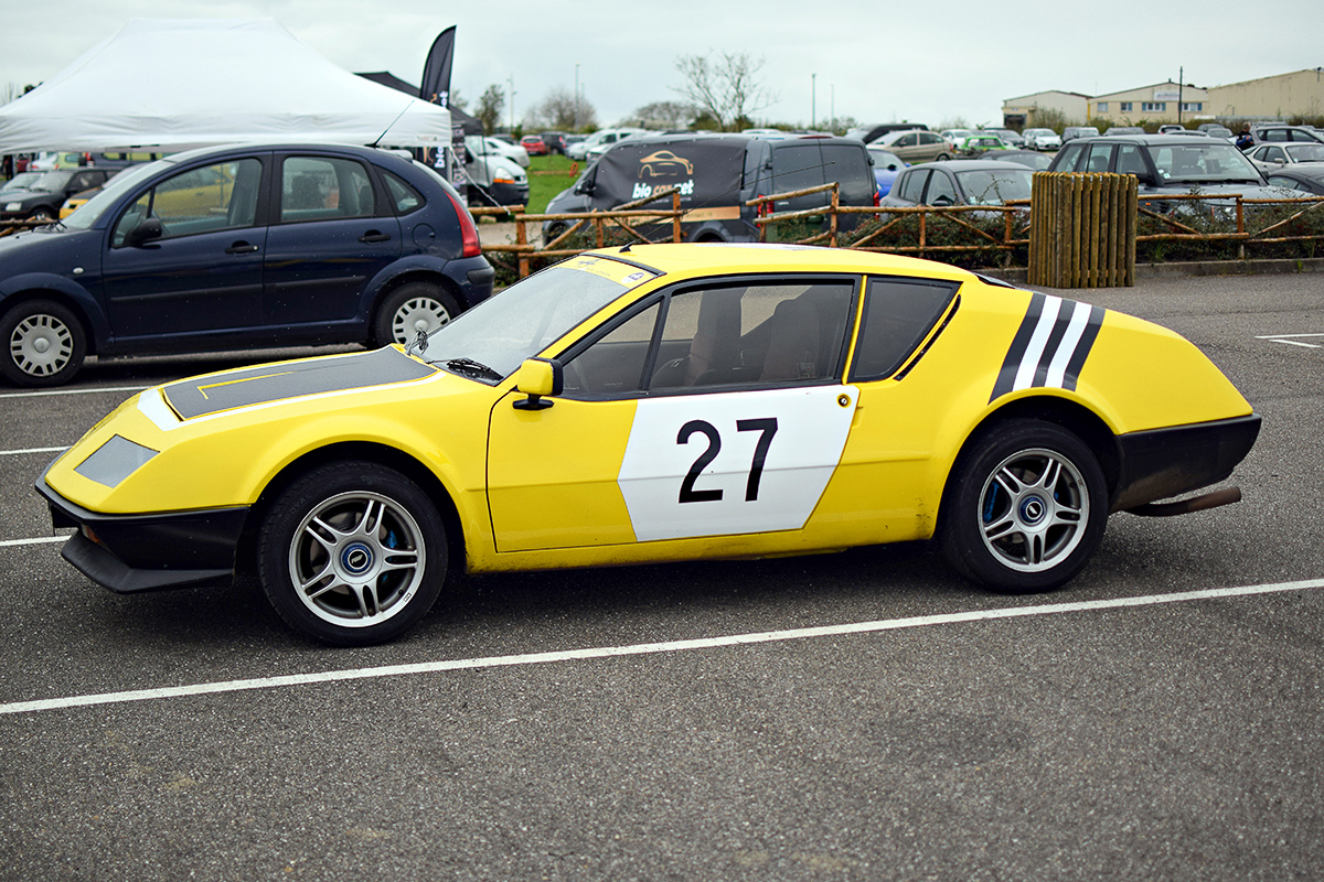 Alpine A310 - Rottary Club 2016, Chambley