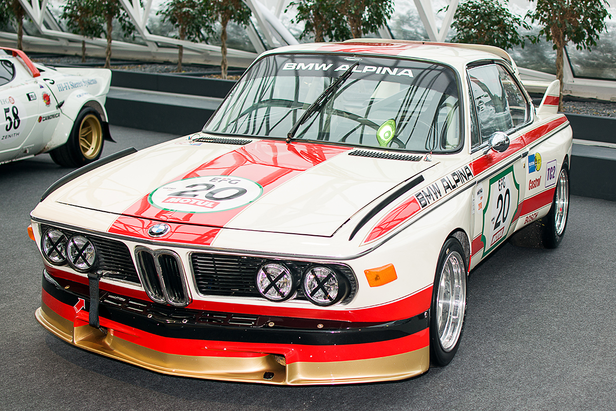BMW E9 3.0 CSL Alpina 1975 - Luxembourg Motor Show 2018