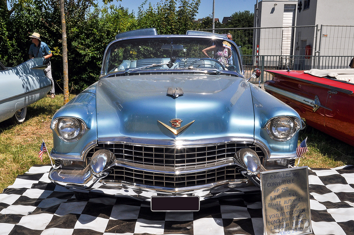Cadillac Série 62 IV - American Roadrunners 2018, Stadtbredimus