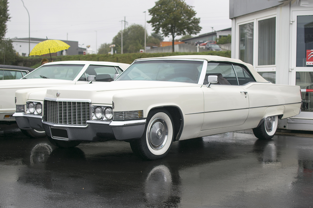 Cadillac DeVille III - Modern Cars meet Classic Cars, Roost, 2019