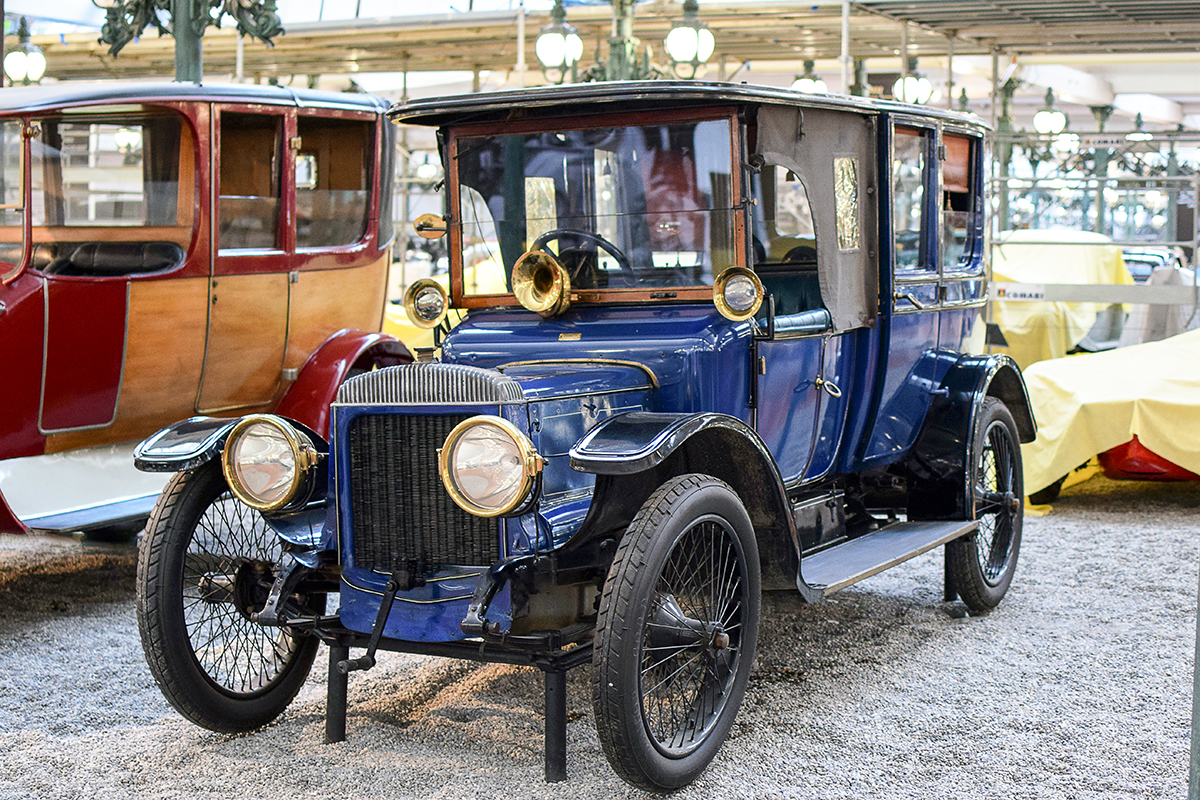 Daimler TE 20 Coupé-Chauffeur 1912 - Cité de l'automobile, Collection Schlumpf