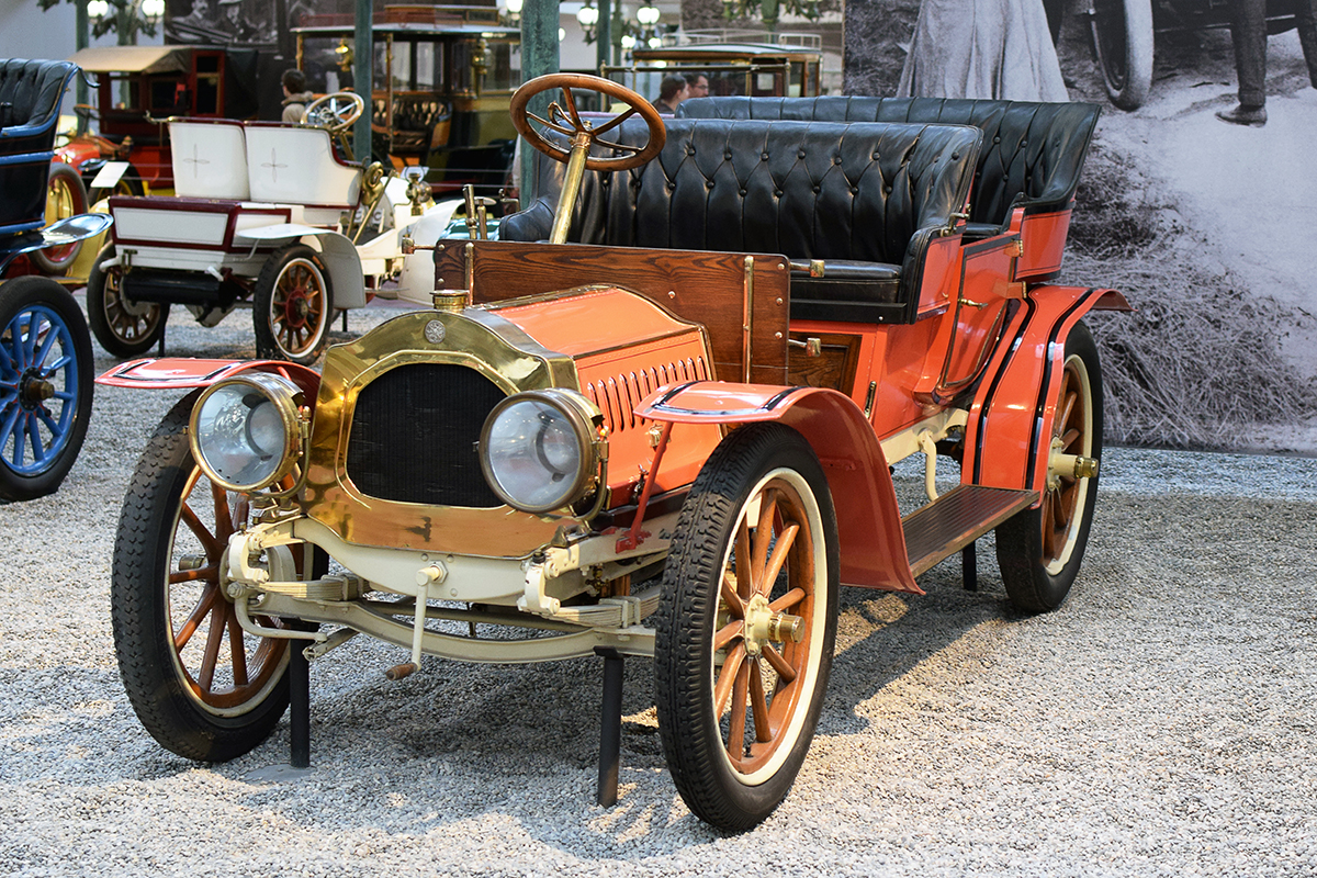 De Dion-Bouton type AW 1908 - Cité de l'automobile, Collection Schlumpf