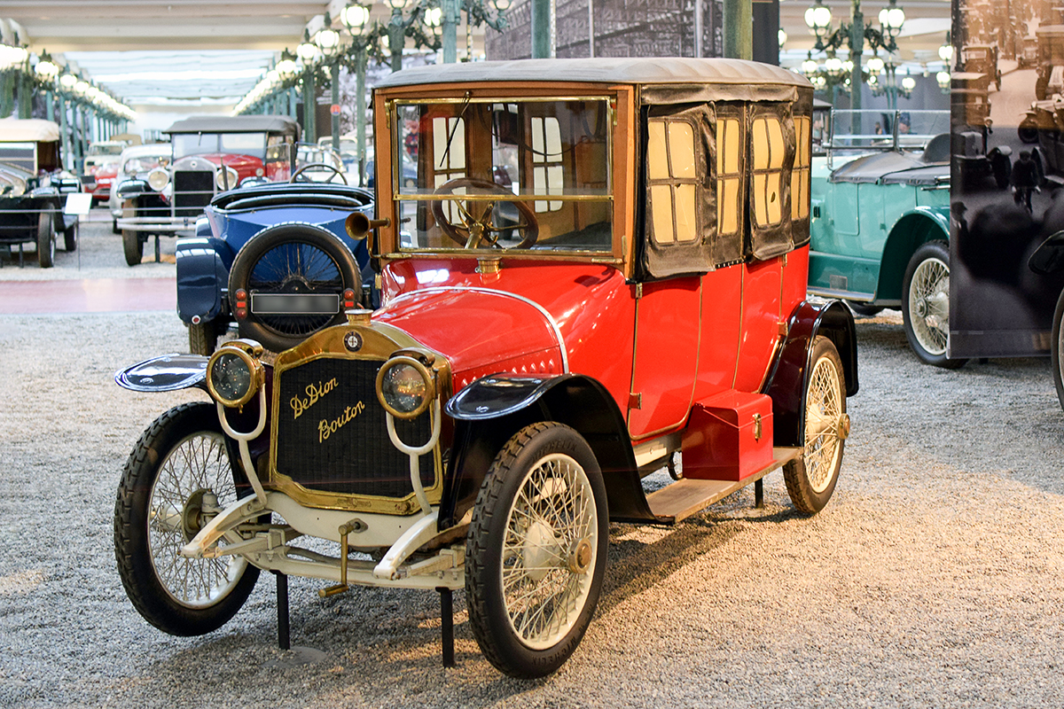 De Dion Bouton type DH 1912 limousine - Cité de l'automobile, Collection Schlumpf, Mulhouse