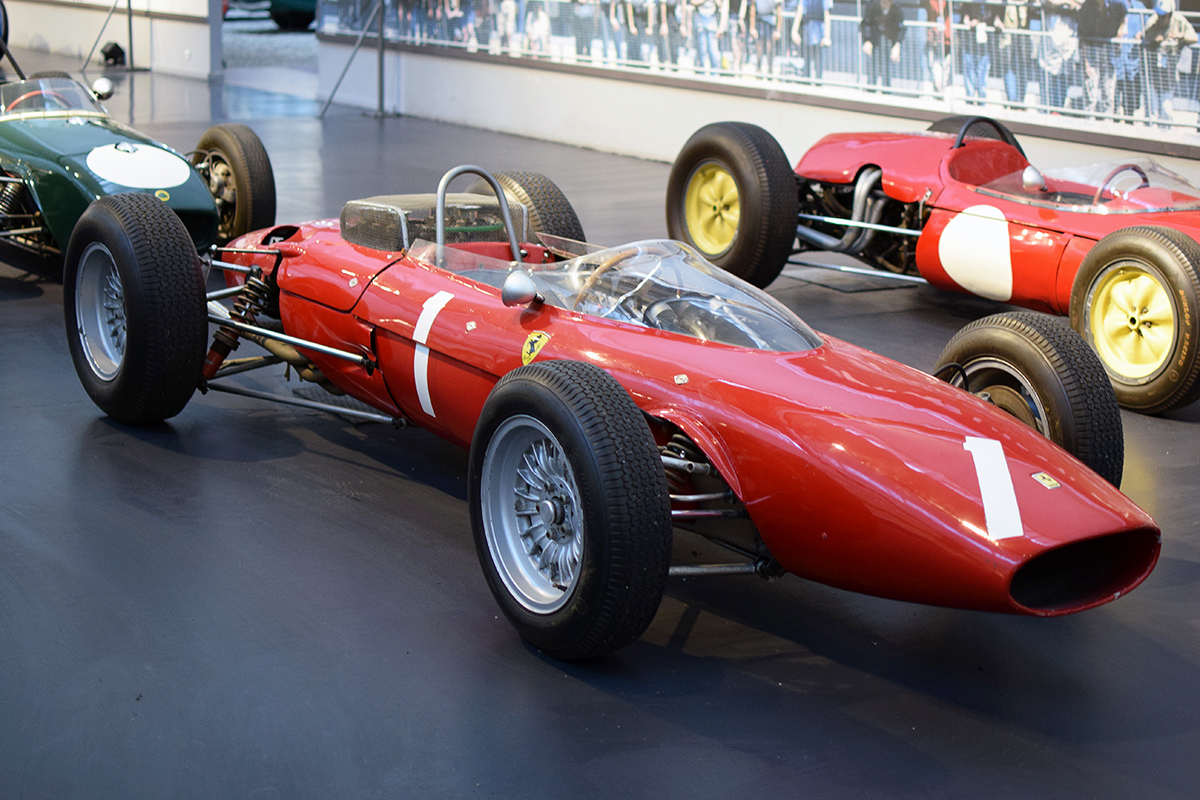 Ferrari 156B F1 1963 - Cité de l'automobile, Collection Schlumpf