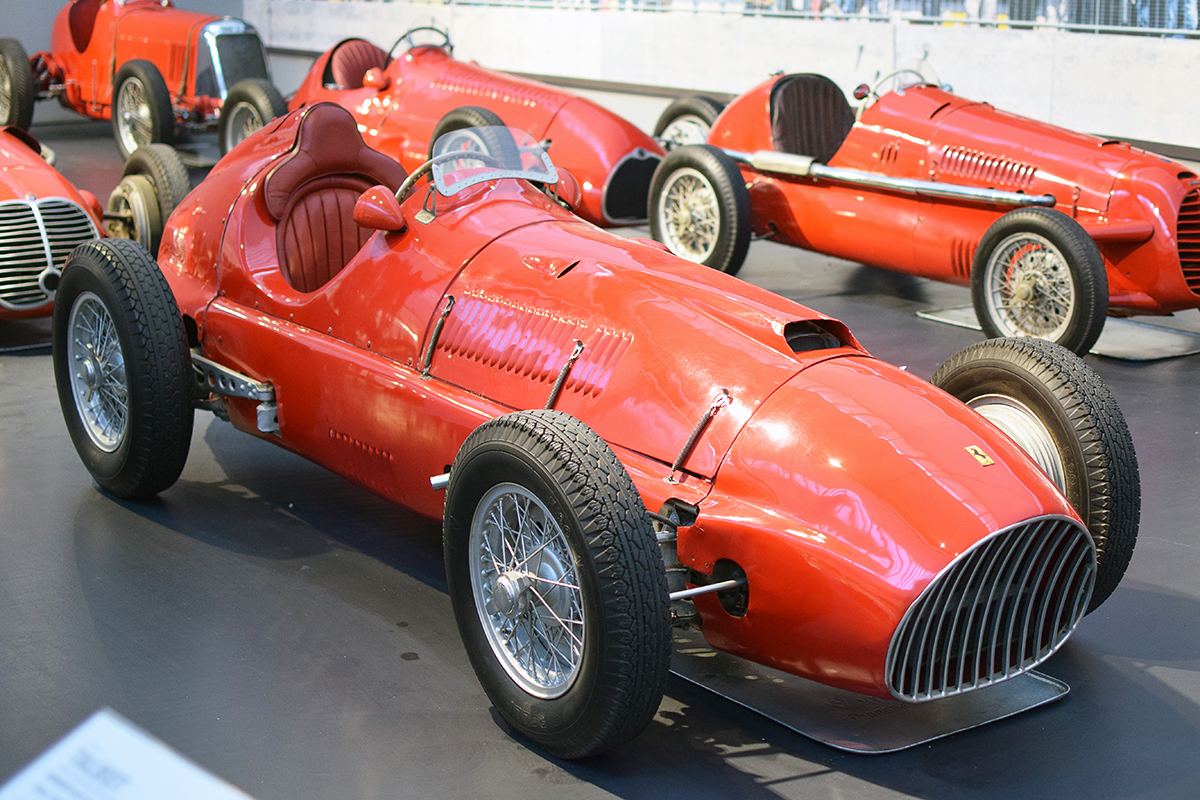 Ferrari 500/625 F2 Monoplace 1952 - Cité de l'automobile, Collection Schlumpf