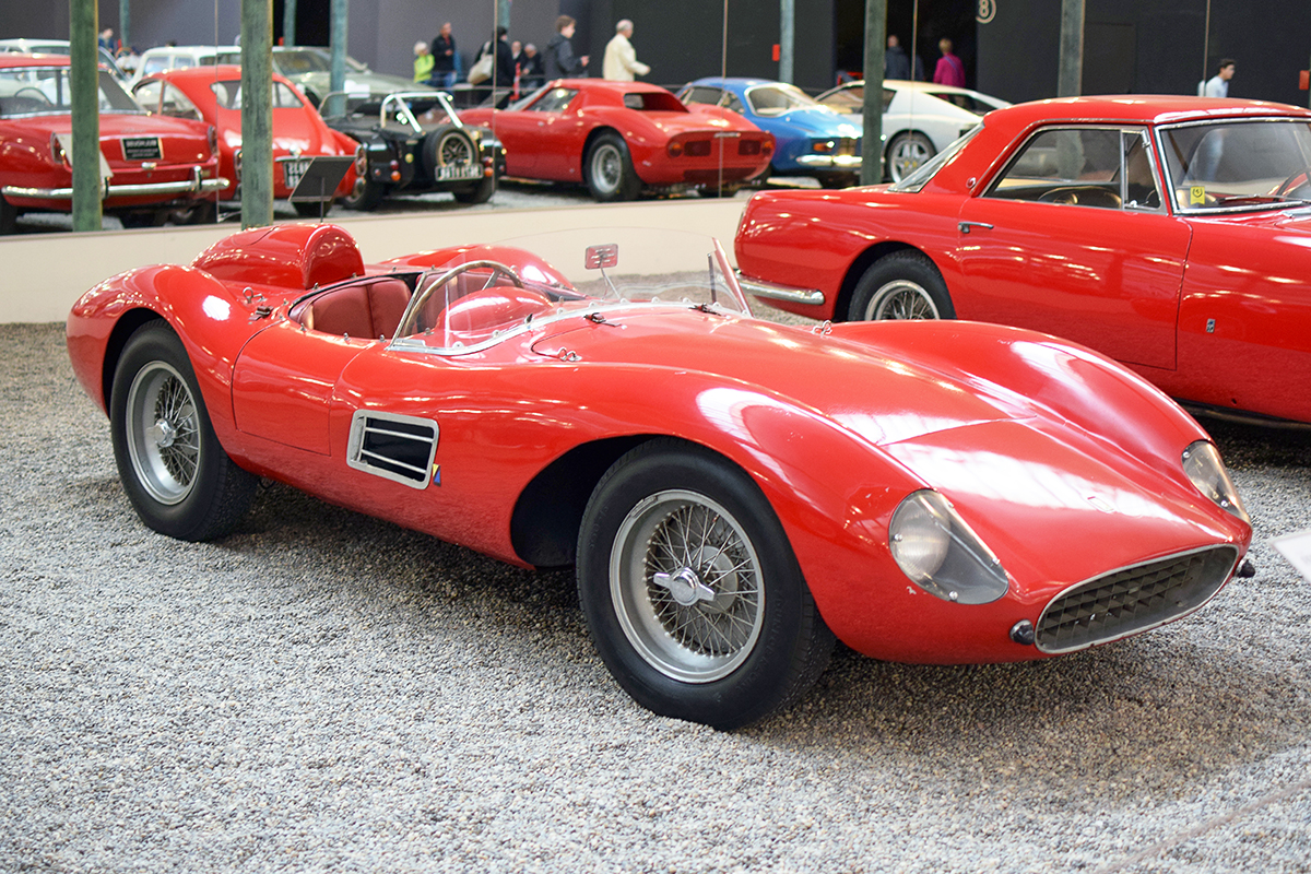 Ferrari 500 TRC 1957 - Cité de l'automobile, Collection Schlumpf