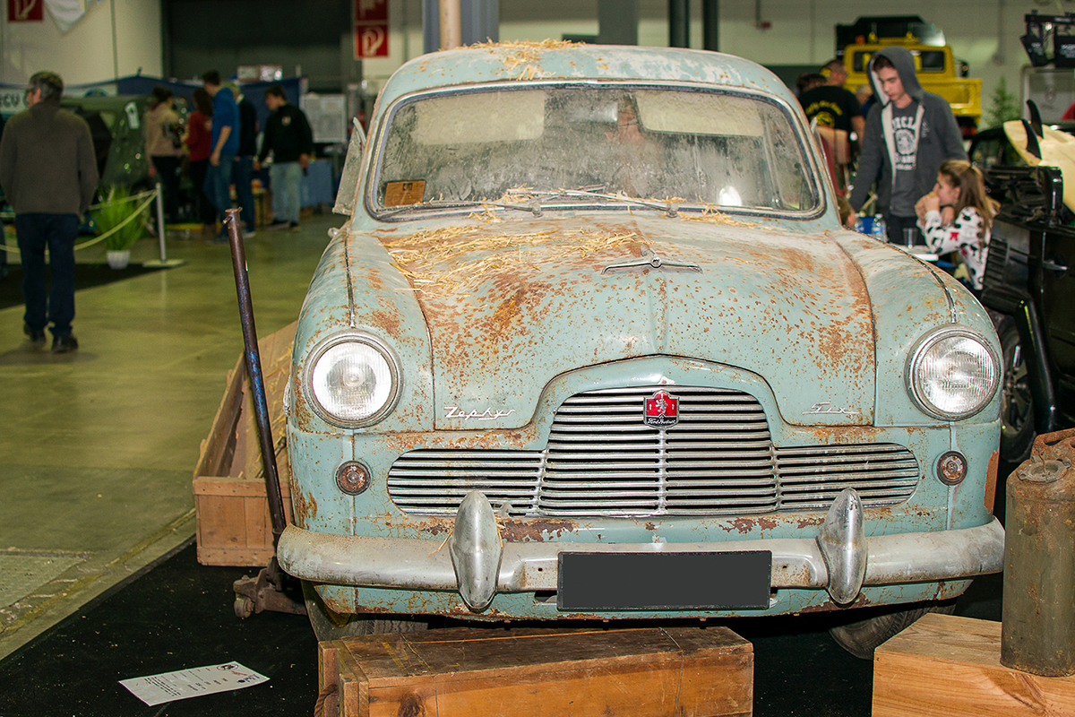 Ford Zephyr I Six 1955 - LOF, Autotojumble, Luxembourg, 2019