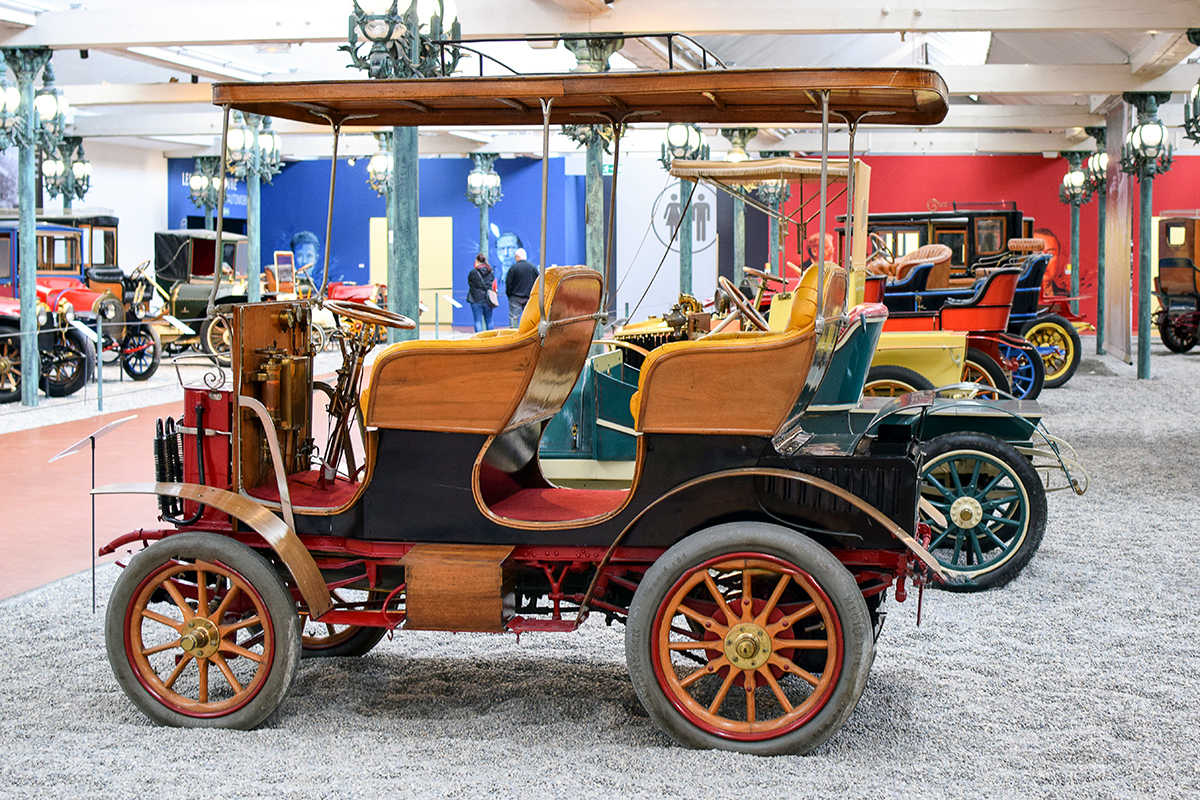 Gardner-Serpollet type A Double Phaeton 1902 - Cité de l'automobile, Collection Schlumpf