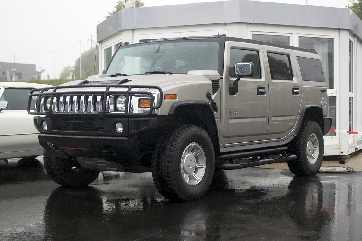 Hummer H2 - Modern Cars meet Classic Cars, Roost, 2019