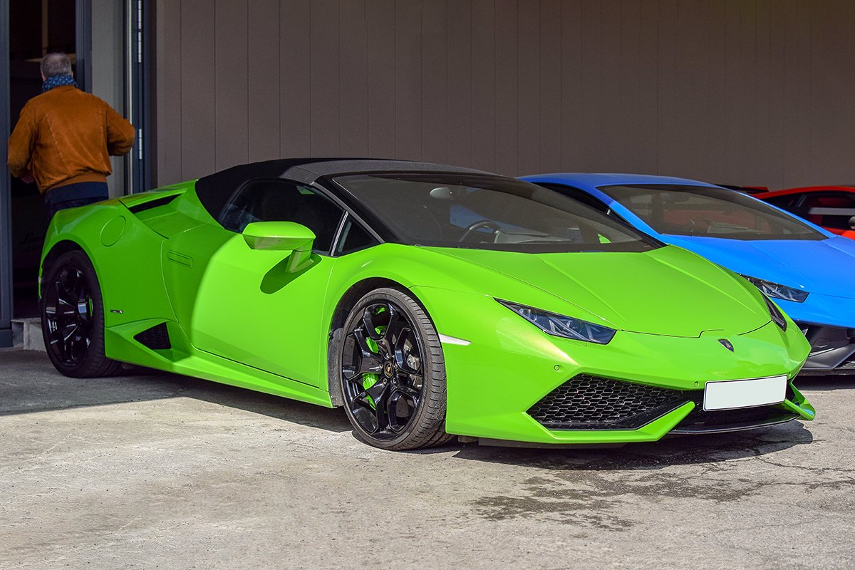 Lamborghini Huracan Phase 1 LP 610-4 spyder - Cars & Coffee Deluxe Luxembourg Mai 2019