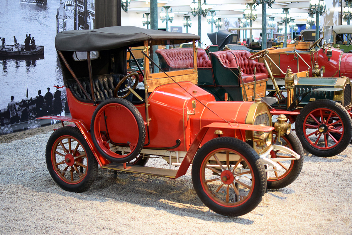 Le Zèbre type A 1910 - Cité de l'automobile, Collection Schlumpf