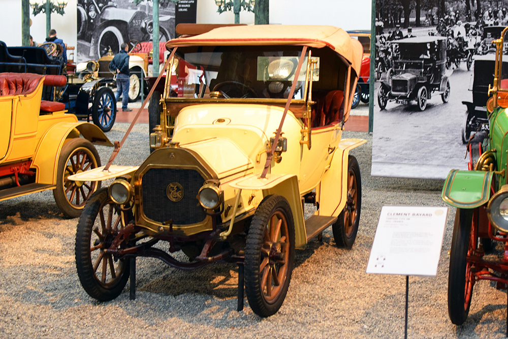 Le Zèbre type A 1913 - Cité de l'automobile, Collection Schlumpf