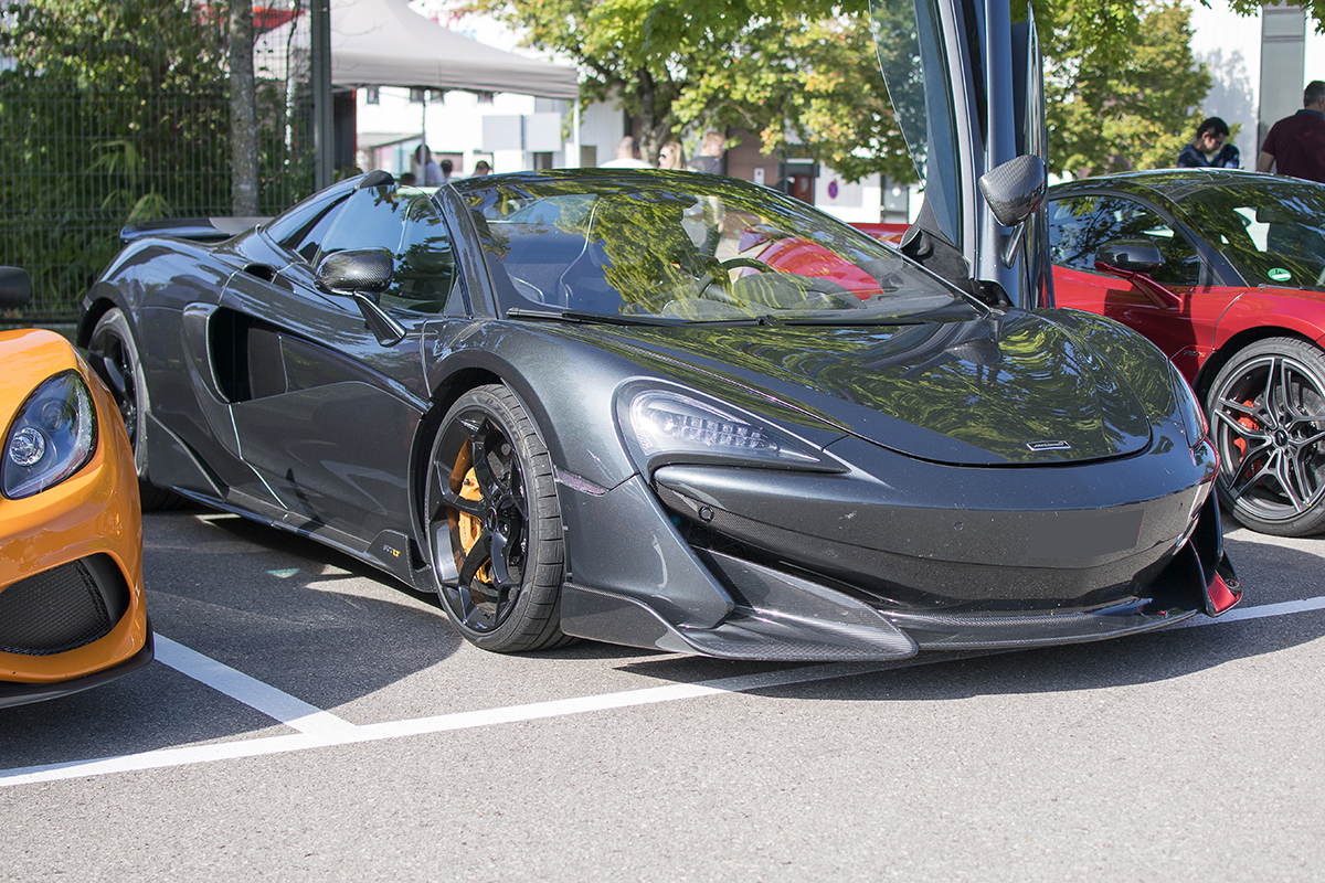 McLaren 600LT Spider - Cars & Coffee Deluxe Luxembourg Septembre 2019