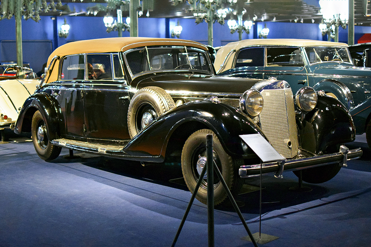 Mercedes-Benz W150 770K 1938 - Cité de l'automobile, Collection Schlumpf