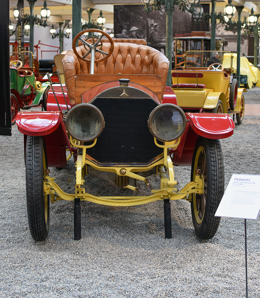Mercedes 28/50 Double-Phaeton 1905 - Cité de l'automobile, Collection Schlumpf