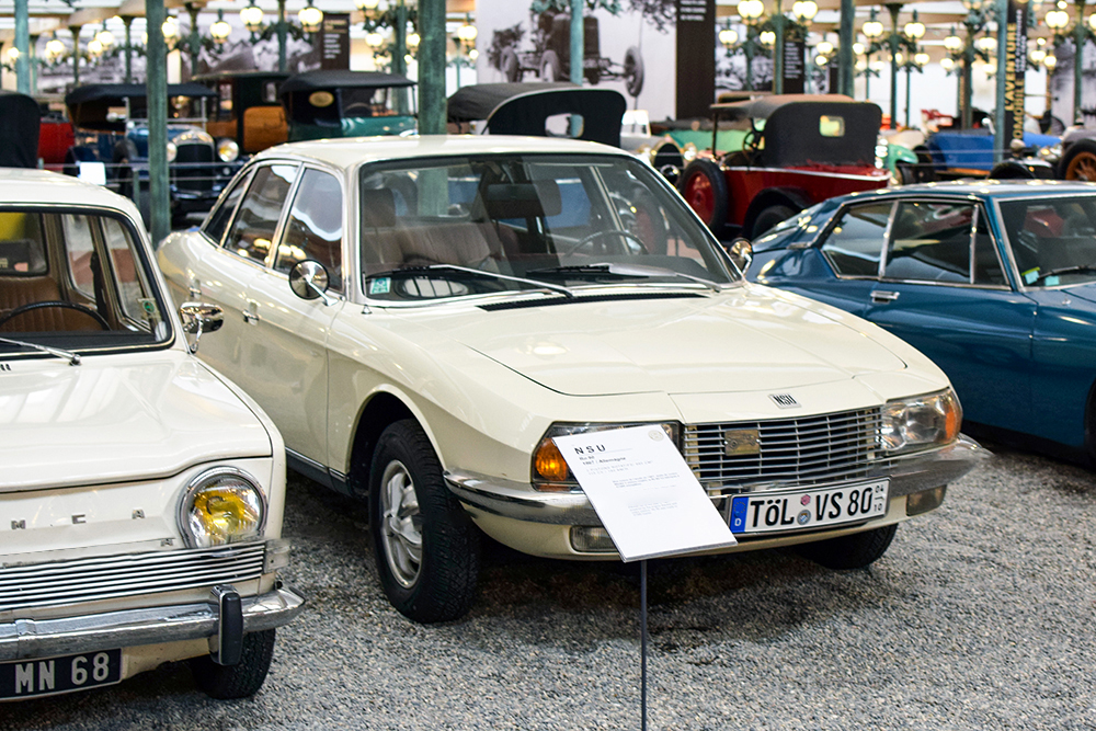 NSU Ro 80 1967 - Cité de l'automobile, Collection Schlumpf