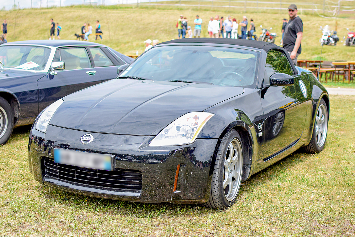Nissan 350Z roadster - Automania 2017, Edling les Anzeling, Hara du Moulin