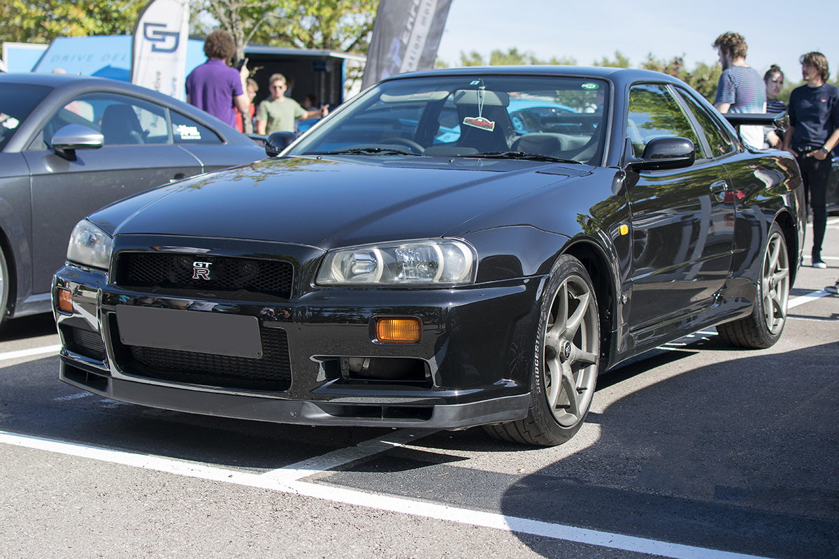 Nissan Skyline R34 GT-R - Cars & Coffee Deluxe Luxembourg Septembre 2019
