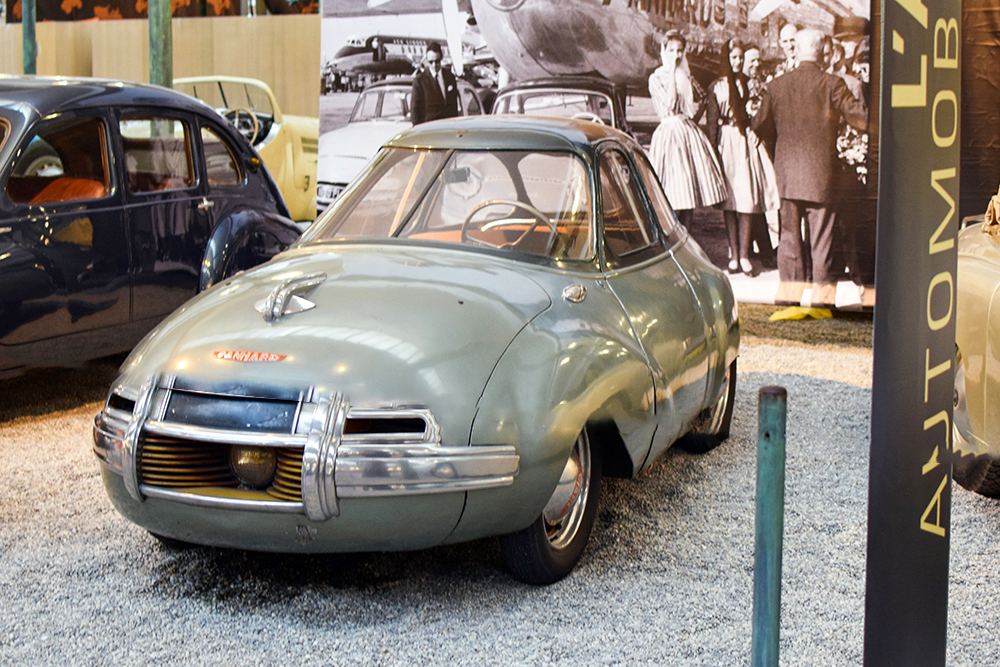 Panhard Dynavia 1948 - Cité de l'automobile, Collection Schlumpf