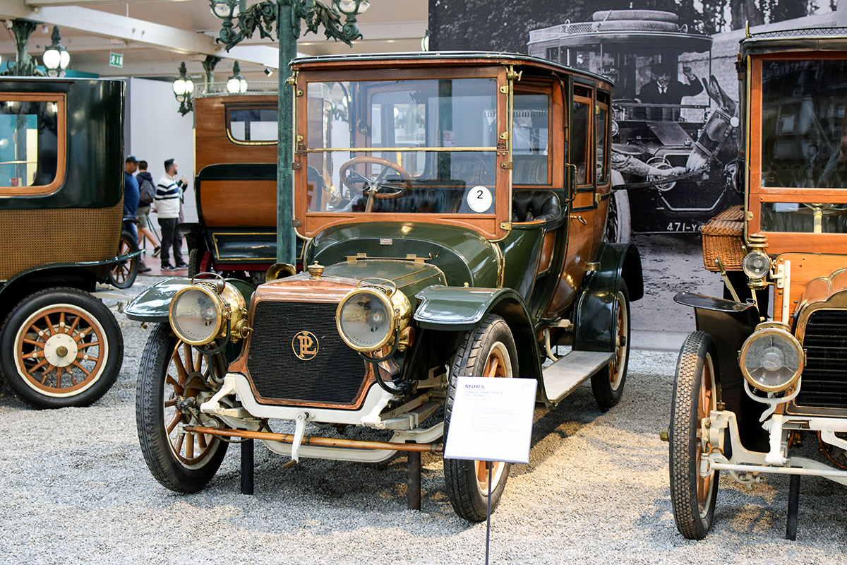 Panhard & Levassor type X12 1912 - Cité de l'automobile, Collection Schlumpf