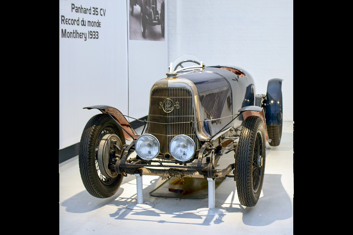 Panhard & Levassor type X49 Sport 1932 - Cité de l'automobile, Collection Schlumpf, Mulhouse