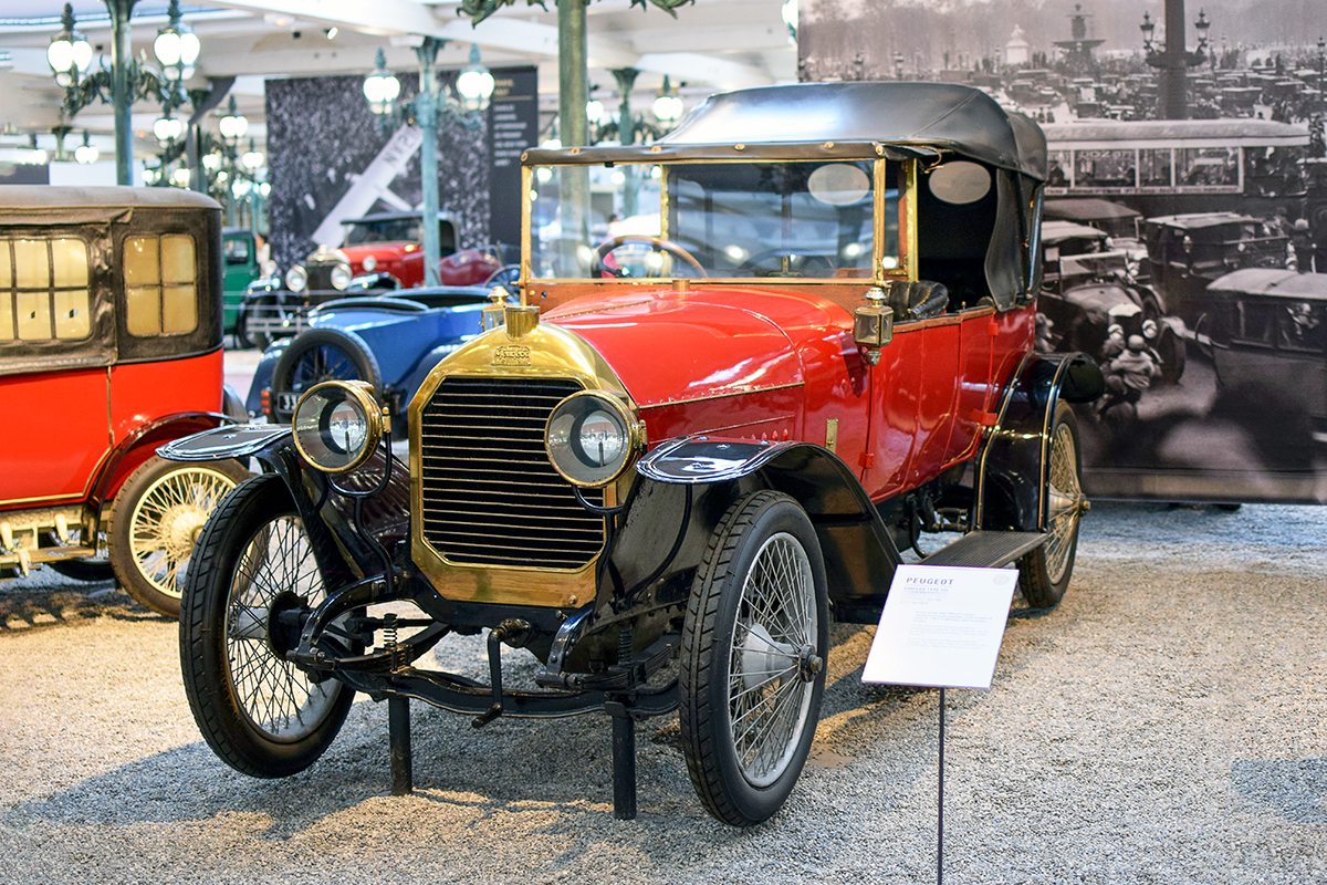 Peugeot type 146 Torpedo 1913 - Cité de l'automobile, Collection Schlumpf, Mulhouse
