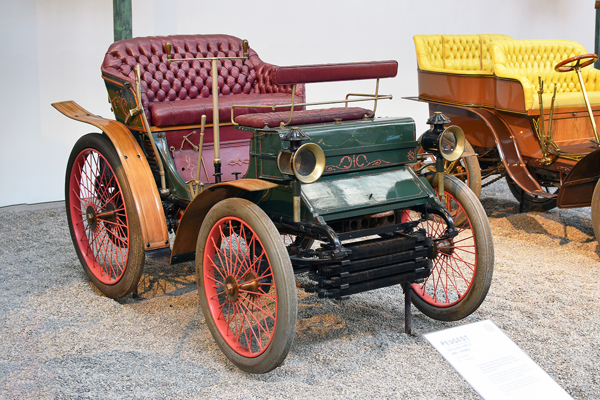 Peugeot type 17 1898 - Cité de l'automobile, Collection Schlumpf