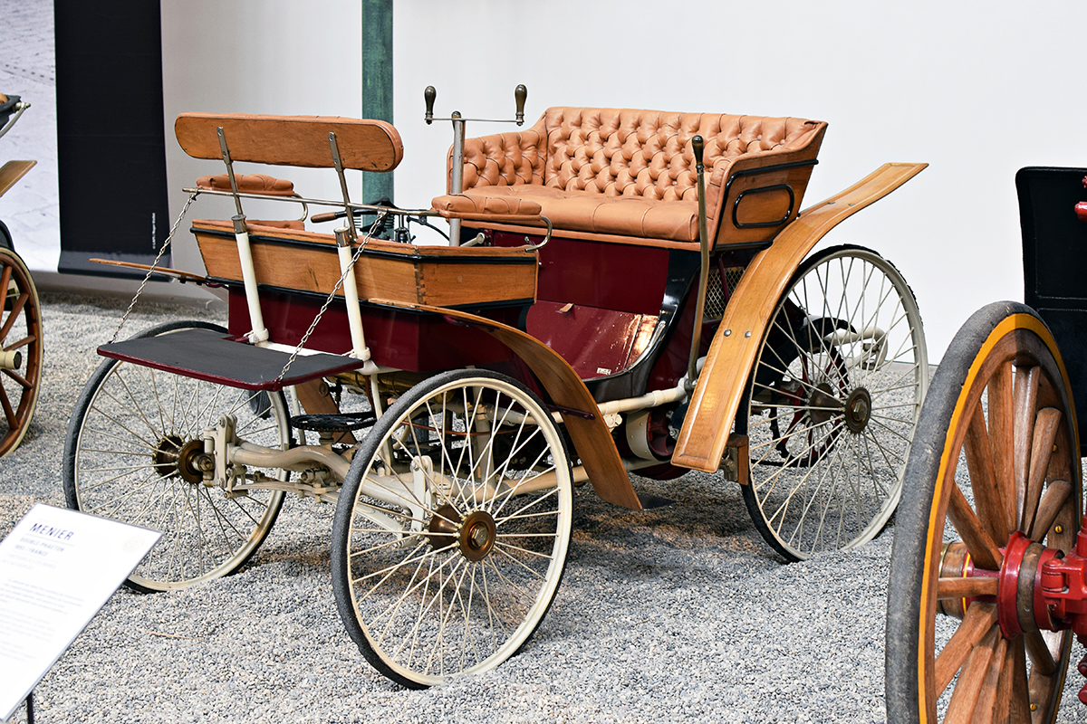 Peugeot type 3 Vis à Vis 1894 - Cité de l'automobile, Collection Schlumpf
