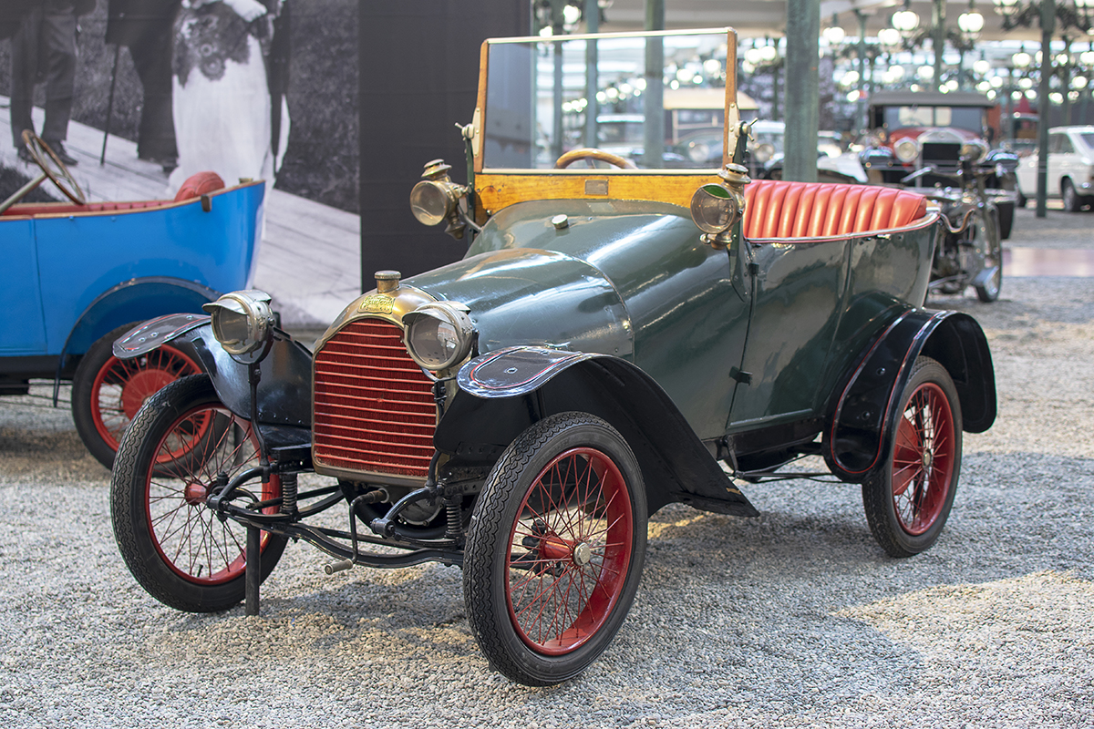 "Peugeot type BP1 ""Bébé"" torpedo 1913 - Cité de l'automobile, Collection Schlumpf, Mulhouse, 2020"