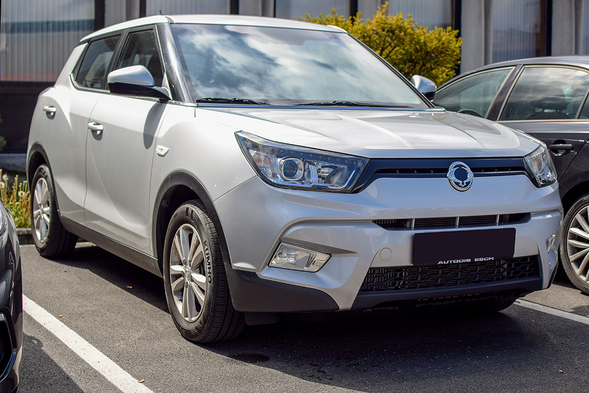SsangYong Tivoli - Cars & Coffee Deluxe Luxembourg Mai 2019