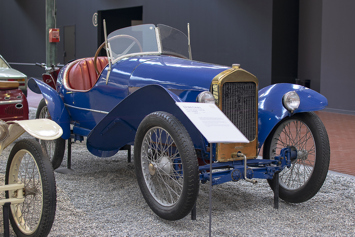Sénéchal SS biplace sport 1925 - Cité de l'automobile, Collection Schlumpf, Mulhouse, 2020