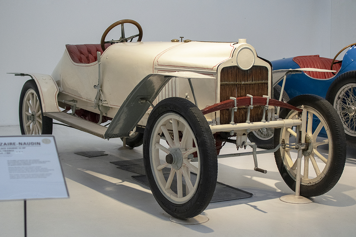 Sizaire-Naudin 12 HP  biplace course 1908 - Cité de l'automobile, Collection Schlumpf, Mulhouse, 2020