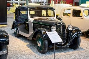 Adler Trumpf Junior 1936 prototype - Cité de l'automobile, Collection Schlumpf