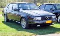 Alfa Romeo 75 V6 3.0L - LOF Oldtimer Breakfast Mamer 2019