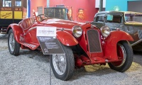 Alfa Romeo 8C 2600 1934 - Cité de l'automobile, Collection Schlumpf, Mulhouse, 2020