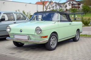 BMW 700 cabriolet - Perl rassemblement Mai 2019