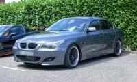 BMW série 5 E60 - Champ'n'Akars, Le Ban St Martin, Juillet 2021