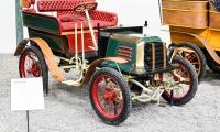 Baudier 3 HP Tonneau 1900 - Cité de l'automobile, Collection Schlumpf