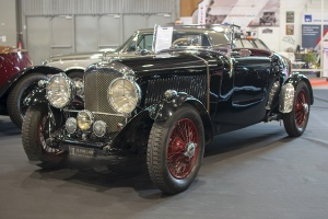 Bentley 3½ Litre 1937 - Salon ,Auto-Moto Classic, Metz, 2019
