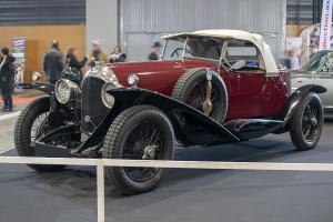 Bentley 3 Litre 1928 - Salon ,Auto-Moto Classic, Metz, 2019