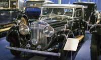 Bentley 4¼ litre 1937 - Cité de l'automobile, Collection Schlumpf