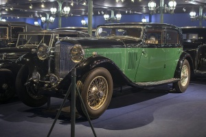 Bentley 8 litres berline 1931 - Cité de l'automobile, Collection Schlumpf 2020