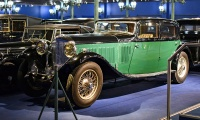 Bentley 8 litres berline 1931 - Cité de l'automobile, Collection Schlumpf