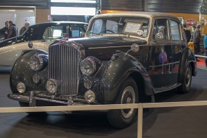 Bentley type R 1954 - Salon ,Auto-Moto Classic, Metz, 2019