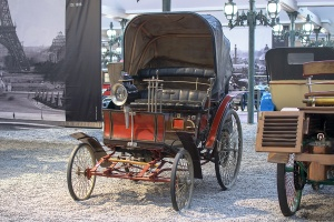Benz Vélocipède 1896 - Cité de l'automobile, Collection Schlumpf, Mulhouse, 2020