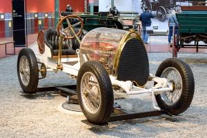 Bugatti type 16 Biplace Sport 1912 - Cité de l'automobile, Collection Schlumpf