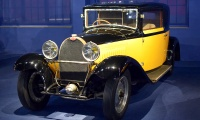 Bugatti type 49 coupé 1933 - Cité de l'automobile, Collection Schlumpf, Mulhouse