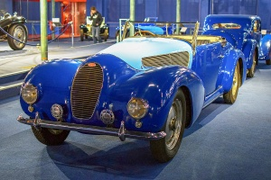 Bugatti type 50T 1936 cabriolet - Cité de l'automobile, Collection Schlumpf, Mulhouse