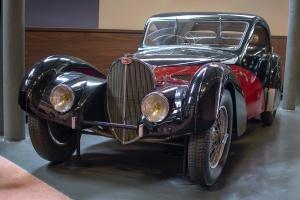 Bugatti type 57SC Atalante 1937 - Cité de l'automobile, Collection Schlumpf, Mulhouse